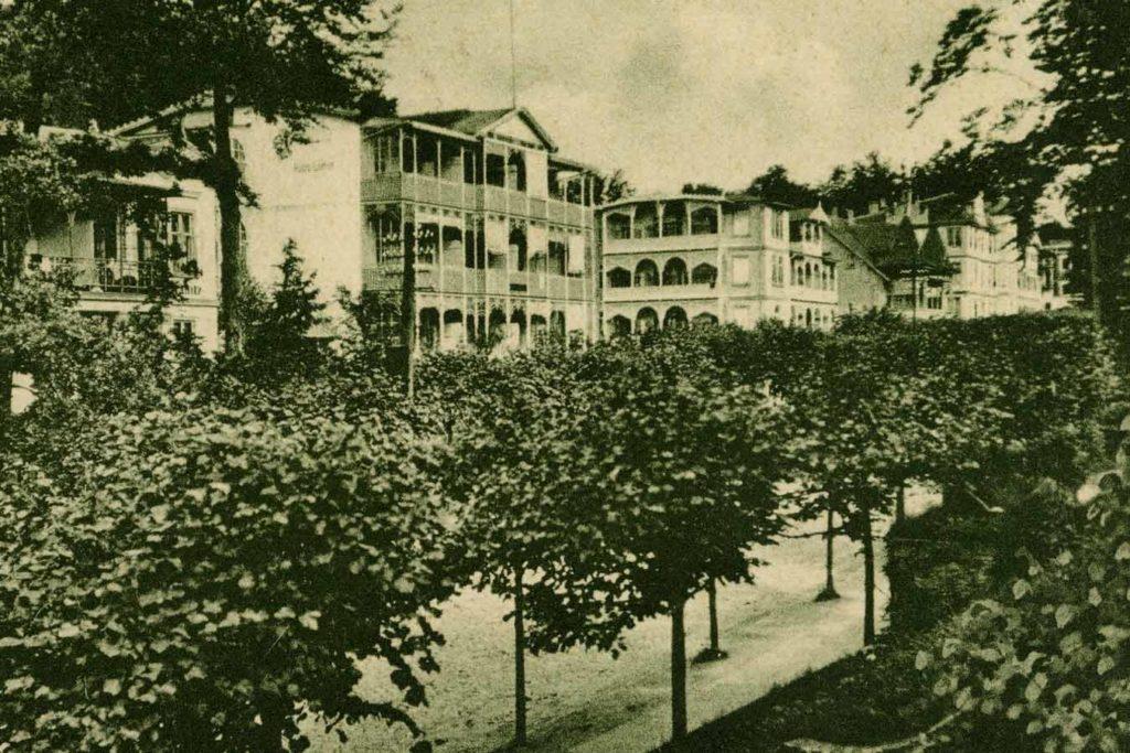 Schwar_weiss_Bild_Bild_Hotel_Glückauf_Sellin_Rügen