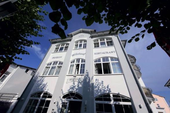 Hotel Glückauf Sellin - Aussenansicht 2